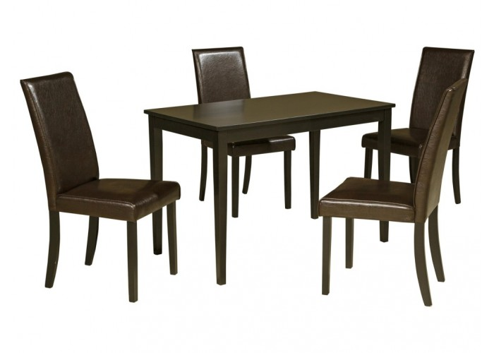 Kimonte 5pc Dining Table Set